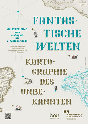 Fantastische Welten - Kartographie des Unbekannten @ Württembergische Landesbibliothek