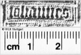 Image Description for https://www.wlb-stuttgart.de/kyriss/images/s0035812.jpg