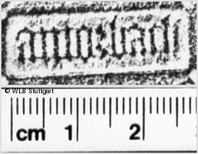 Image Description for https://www.wlb-stuttgart.de/kyriss/images/s0040401.jpg