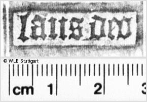Image Description for https://www.wlb-stuttgart.de/kyriss/images/s0122605.jpg