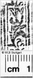 Image Description for https://www.wlb-stuttgart.de/kyriss/images/s0180810.jpg