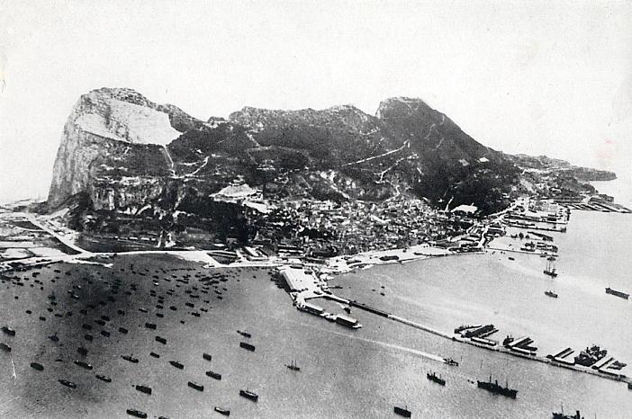 L'Afrique du Nord Gibraltar