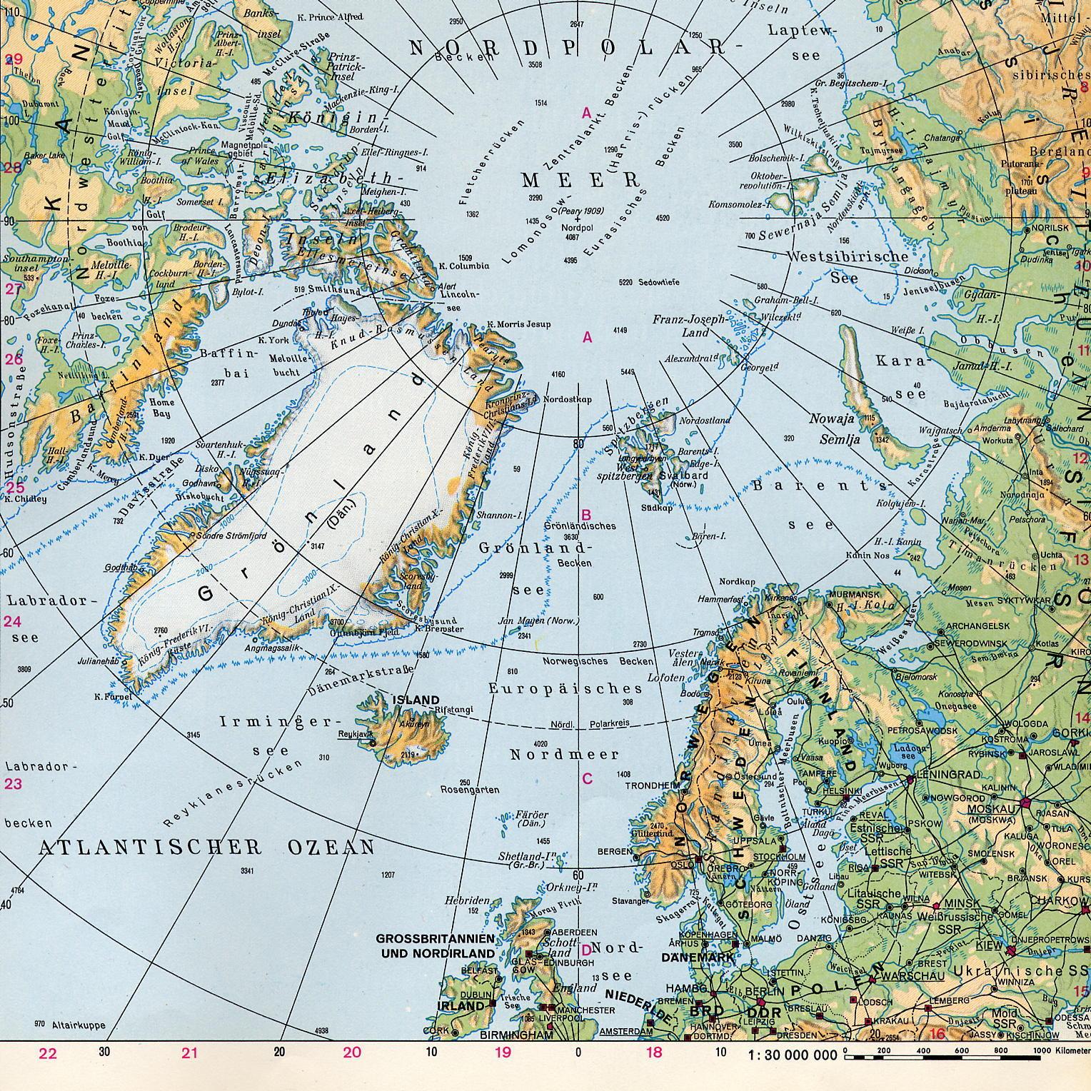 Nordpolarmeer Karte.Nordpolarmeer Jpg